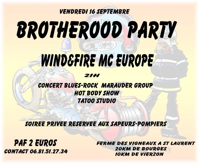 Brotherhood Party - St Laurent - 16 Septembre 2005