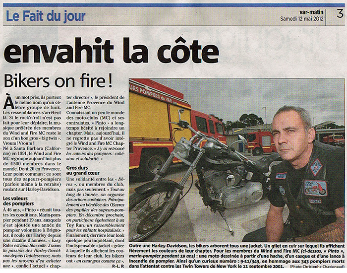 Bikers on fire - 12 Mai 2012