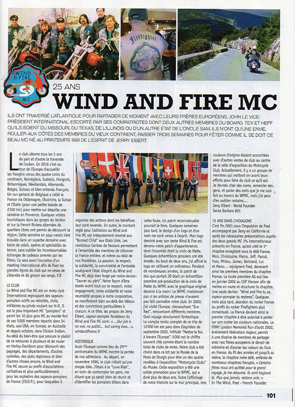 Wind and Fire Mc - 25 ans